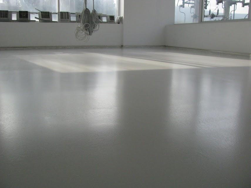 Peinture sol poxy et polyur thane himfloor des - Resine sur carrelage ...