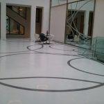 Sol décoratif Terrazzo marbre