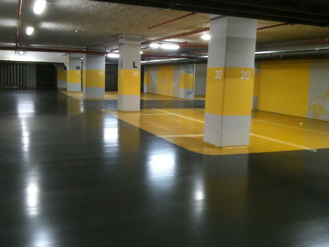 Peinture pour parking souterrain rev tement de sol pour - Peinture sol garage resine ...