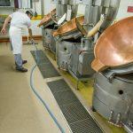 revêtement de sol résine industrie alimentaire