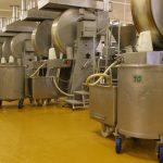 Revêtement sol résine industrie alimentaire