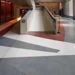 Terrazzo marbre et résine