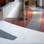 Revêtement sol décoratif Terrazzo marbre