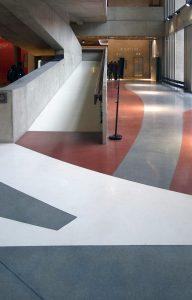 revêtement sol marbre Terrazzo Epoxy Himfloor