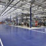 Revêtement de Sol Industriel Automobile