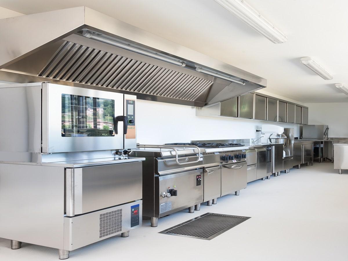 Interieur Cuisine Professionnelle Sols En Resine Himfloor